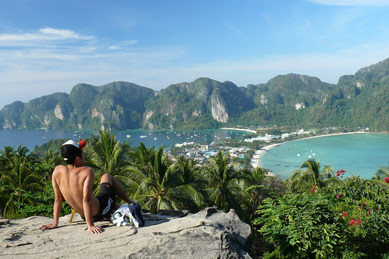 Photographie de voyage - vue sur Koh Phi Phi, Thaïlande