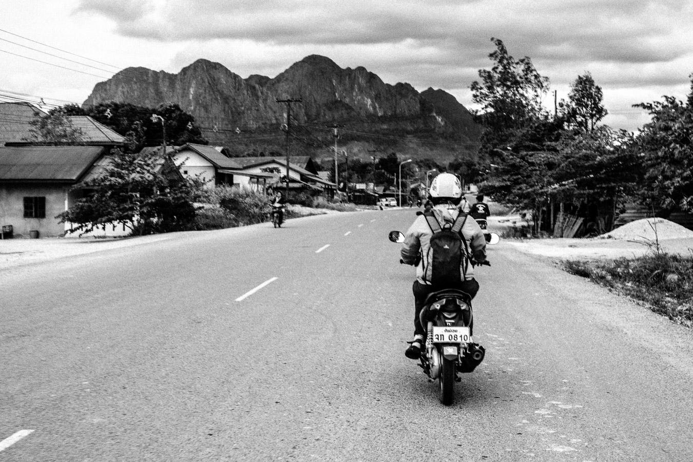 Photographie de voyage - roadtrip en moto, Laos