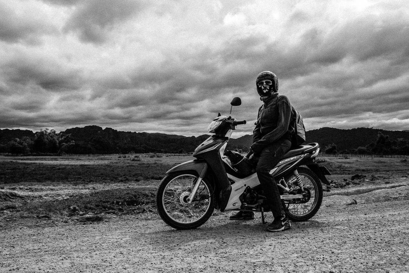 Photographie de voyage - roadtrip à moto, Laos