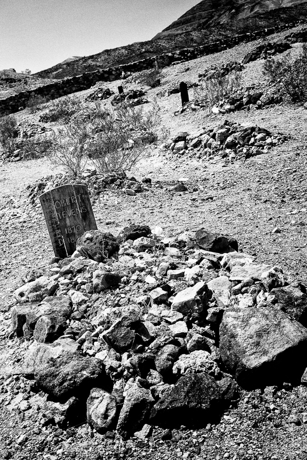 Photographie de voyage - tombe, Californie, USA