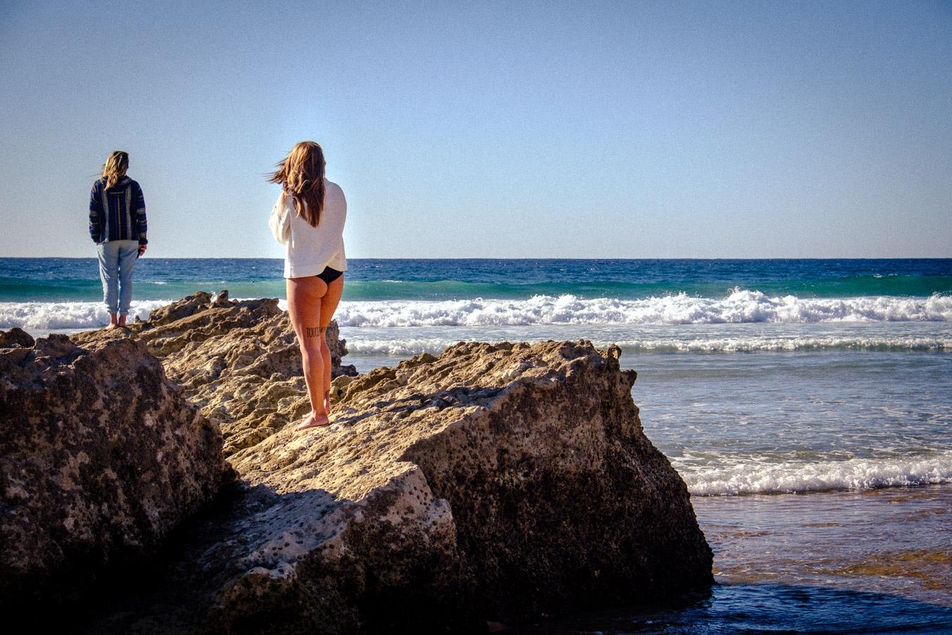 Photographie de voyage - plage d'Algarve, Portugal