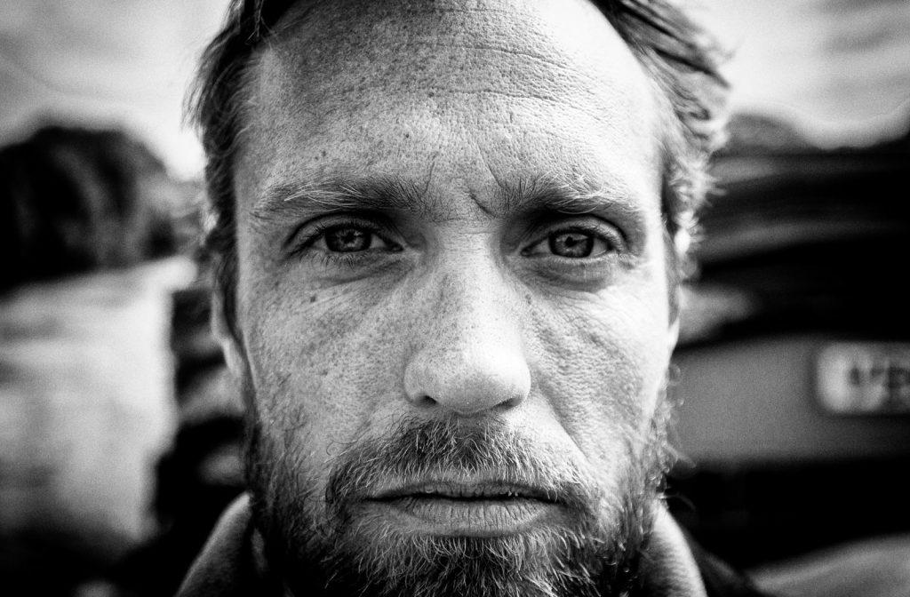 photographie portrait noir et blanc