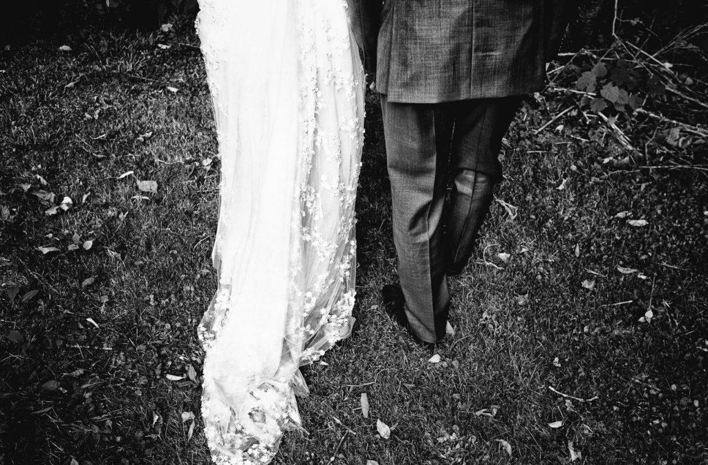 photographie mariage noir et blanc